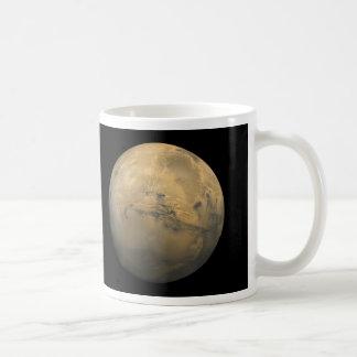Planet Mars in the solar system NASA Coffee Mug
