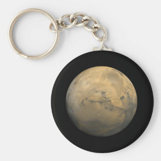 Planet Mars in the solar system NASA Keychain