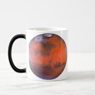 Planet Mars Magic Mug