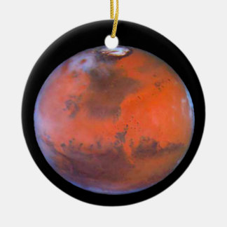 Planet Mars Ornament. Ceramic Ornament
