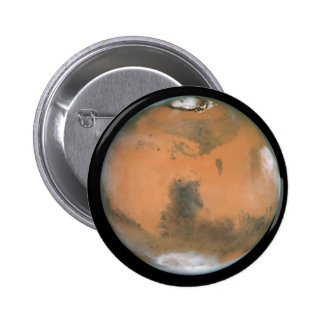 Planet Mars Pinback Button