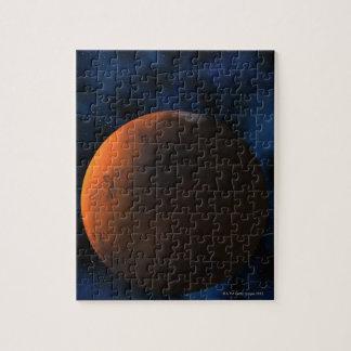 Planet mars puzzle