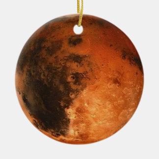 PLANET MARS (solar system) ~ Key Christmas Ornament