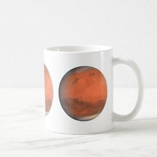 PLANET MARS true color natural (solar system) ~ Classic White Coffee Mug