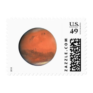 PLANET MARS true color natural (solar system) ~~ Postage