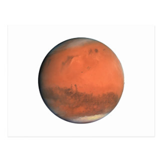 PLANET MARS true color natural (solar system) ~~ Postcard
