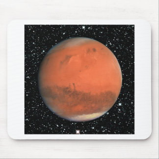 PLANET MARS true color star background ~ Mouse Pad