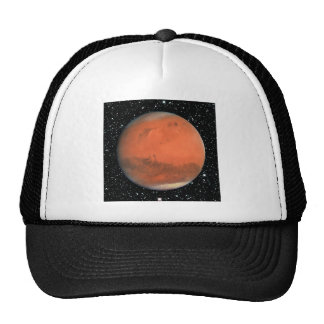 PLANET MARS true color star background ~ Trucker Hat