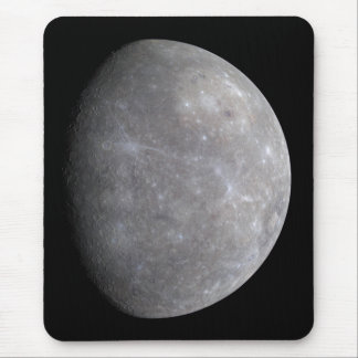 Planet Mercury in space Mouse Pad