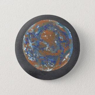 Planet Mercury Pinback Button