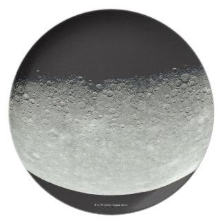 Planet Mercury Dinner Plate