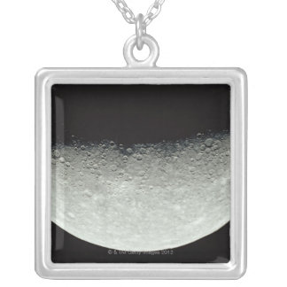 Planet Mercury Silver Plated Necklace