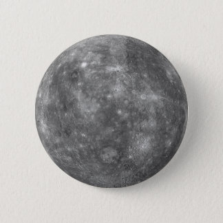 PLANET MERCURY (solar system) ~ Button