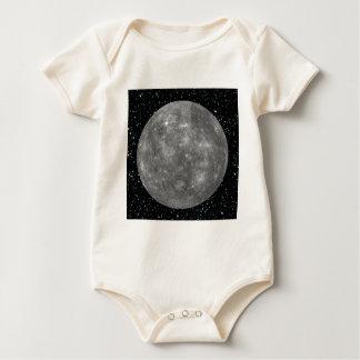 PLANET MERCURY star background (solar system) ~ Baby Bodysuit