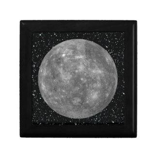 PLANET MERCURY star background (solar system) ~ Keepsake Box