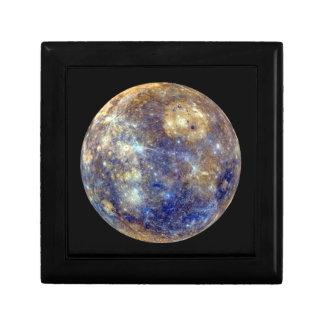 PLANET MERCURY v2 natural (solar system) ~ Trinket Box