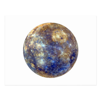 PLANET MERCURY v2 (solar system) ~~ Postcard