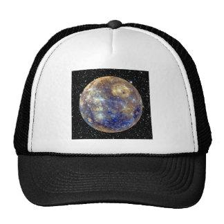 PLANET MERCURY v.2 star background (solar system) Trucker Hat