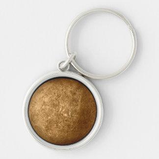 Planet MERCURY Zipper-Pull & Luggage Tag, Keychain