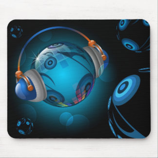 Planet Music Mouse Pad
