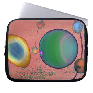 Planet Nebula Electronics Bag