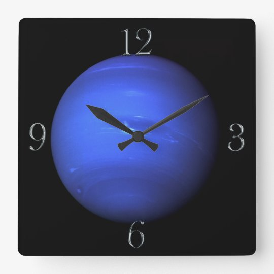 Planet Neptune Astronomy-lovers Wall Clock