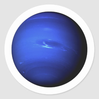 PLANET NEPTUNE (solar system) ~~ Classic Round Sticker