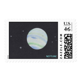 Planet NEPTUNE stamps
