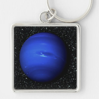 PLANET NEPTUNE Star Background 2 (solar system) ~. Keychain