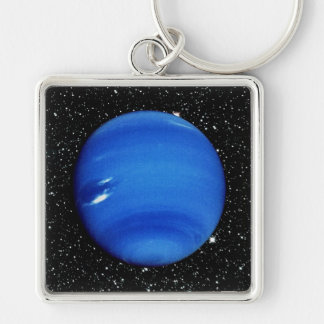 PLANET NEPTUNE V.3 with Star Background ~ Keychain