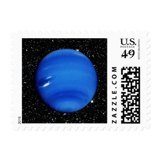 PLANET NEPTUNE V.3 with Star Background ~ Postage