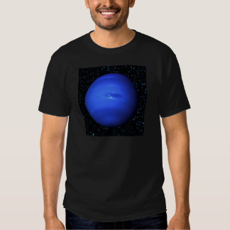PLANET NEPTUNE with Star Background (solar system) T Shirts