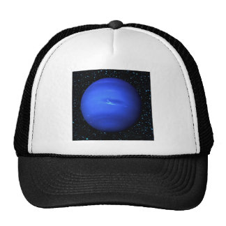 PLANET NEPTUNE with Star Background (solar system) Trucker Hat