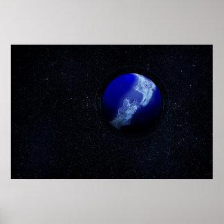 Planet - New Zealand Print