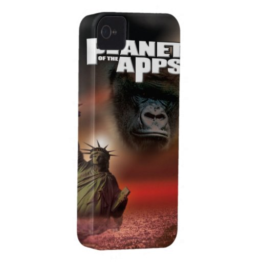 """Planet of the """"Apps"""" Blackberry Case"""