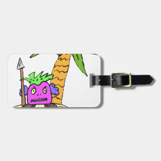 Planet of the Grapes Luggage Tag