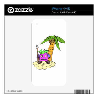 Planet of the Grapes Skin For The iPhone 4S