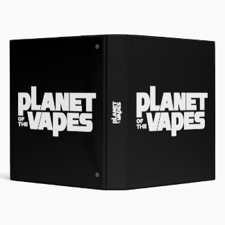 Planet of the vapes 3 ring binder