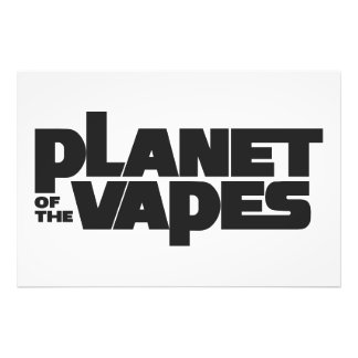 Planet of the vapes photo print