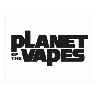 Planet of the vapes postcard
