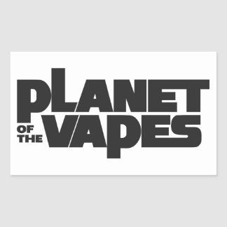 Planet of the vapes stickers