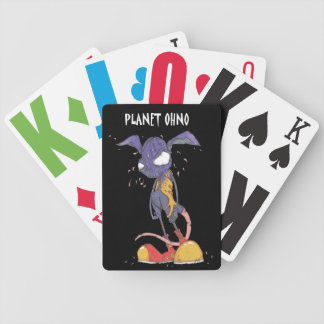 Planet OHNO! playing cards