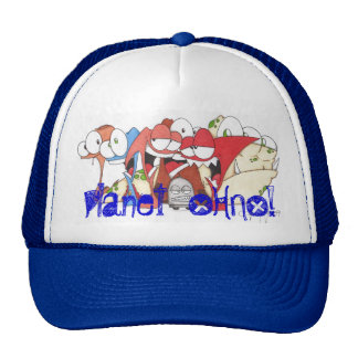 Planet OHNO! Spring Line Trucker Hat
