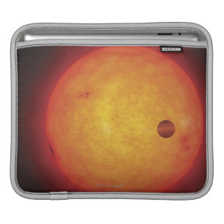 Planet Orbiting Star iPad Sleeve