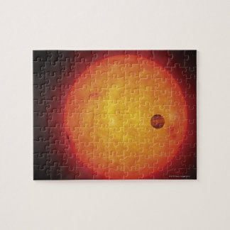 Planet Orbiting Star Jigsaw Puzzles