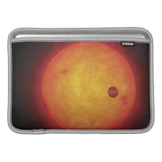 Planet Orbiting Star Sleeve For MacBook Air