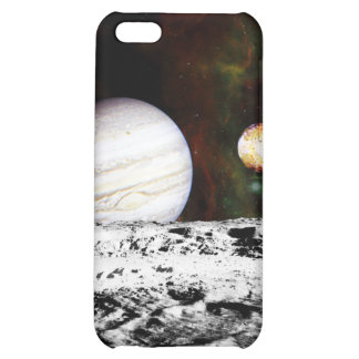 Planet Panorama from the Surface of the Moon iPhone 5C Cover