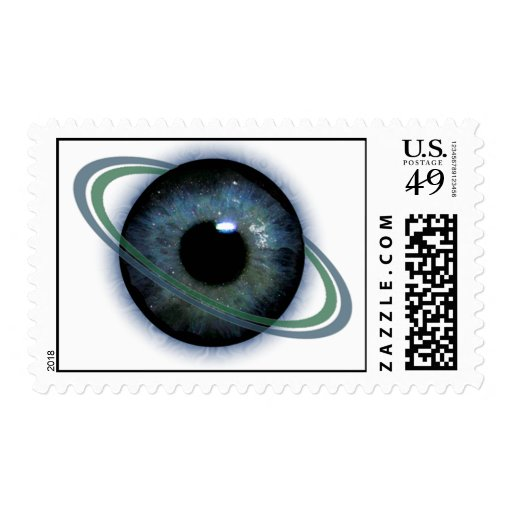 Planet Paranormal Logo postage stamps