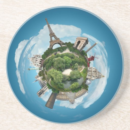 Planet Paris coaster