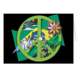 Planet Peace Brasil Card